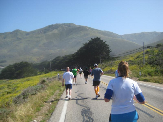 Big Sur Marathon Run