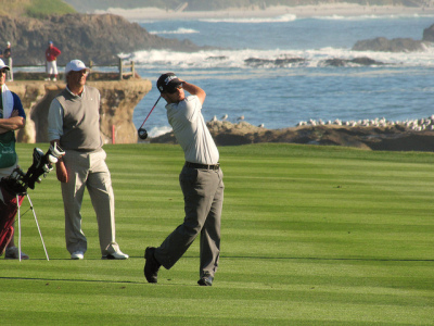 Pebble Beach golf tournament