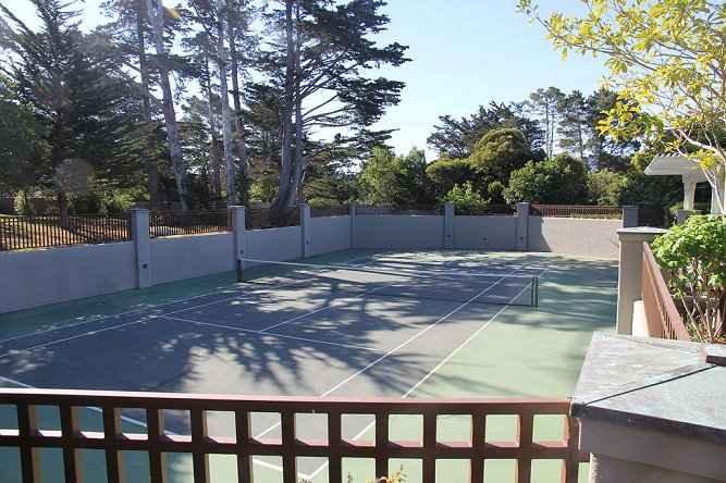 Score! Ten Fabulous Homes with Private Tennis Courts!